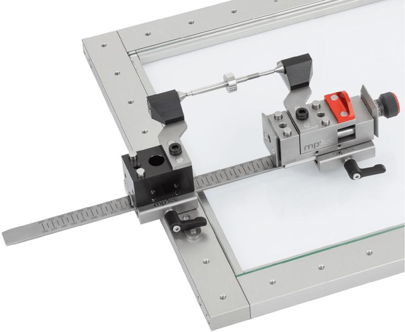 Maximales Durchlicht bei optischen Messungen