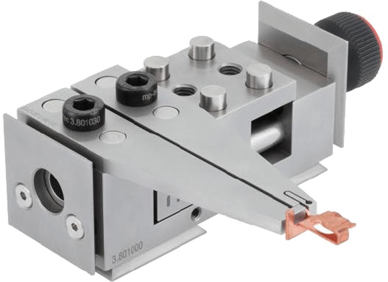 Backenkombination für Werkstücke mit geringer Materialstärke