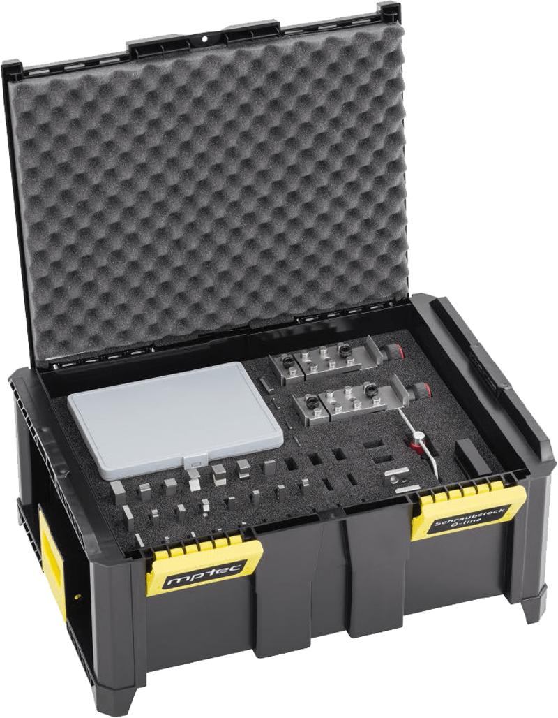 Systemkoffer, schützt alle Komponenten